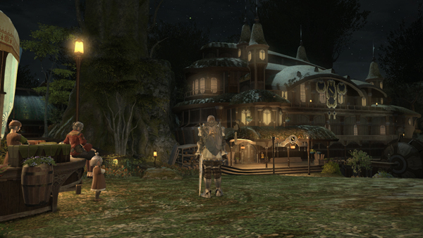 Pre-Beta (FFXIV - ARR)  Night time screenshots JP20130118_1