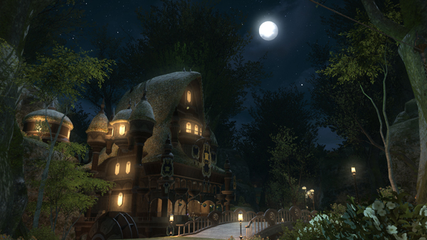 Pre-Beta (FFXIV - ARR)  Night time screenshots JP20130118_2